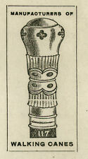 1910 Letterhead St. Louis Missouri Coe Yonge & Company Walking Sticks Canes