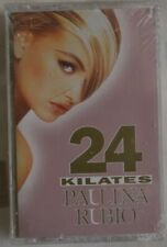 Paulina Rubio - 24 Kilates - Cassette - New! Sealed! EMI/LATIN
