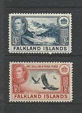 Mint Hinged Falkland Island Colony Stamps