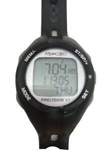 Reebok Precision XT Fitness Watch Dark Gray Digital, Watch Only
