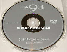 2006 SAAB 9-3 93 AERO SEDAN CONVERTIBLE NAVIGATION GPS MAP DISC CD DVD 12770263