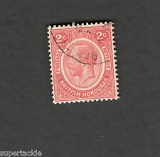 1927 British Honduras SCOTT #94 KING GEORGE V  Θ used stamp