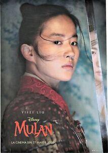 11 Mini-Posters Movie Ads New Releases Rare Romania MULAN DISNEY BLOODSHOT etc