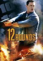 12 Rounds NEW & SEALED Region 2 Movie Night (DVD, 2009)