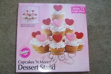 NIB Wilton Cupcakes N More Dessert Stand Holds 13 Cupcakes or Krispy Treats