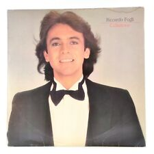 Riccardo Fogli Collezione LP  Vinyl Album 1982 Paradics PRD 20294