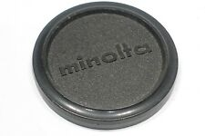 Genuine Minolta 65mm Vintage Push on Lens Cap fits lens with 62mm filter thread