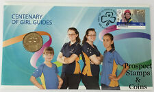 2010 Centenary of Girl Guides Stamp and Coin Cover PNC