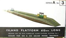 SUPERQUICK CARD KIT - Island Platform #A3 - HO / OO Model Trains