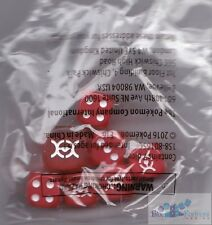 POKEMON XY Evolutions Red DICE 12mm AND 16mm COUNTERS FOR CARDS