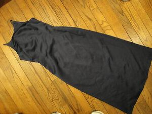Cachet Navy Blue Long Evening Dress          Size 8