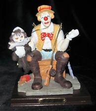 "J. J. Jones ""No Lunch for Jj"" 1995 Chadwick - Miller Clown Cat Statue Figurine"
