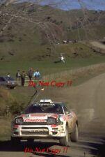 Juha Kankkunen Toyota Celica Turbo 4WD New Zealnd Rally 1994 Photograph 2