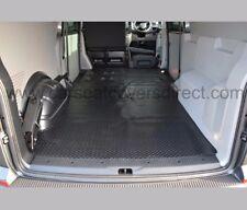 VW Transporter T5 LWB Full Rear Load Liner HEAVY DUTY Rubber floor mat Protector