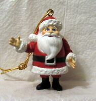 Santa Claus Is Comming to Town Old Kriss Kringle Christmas Ornament