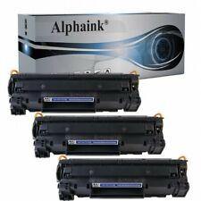 Alphaink KIT-3-AI-435A Kit 3 toner Compatibile per HP CB435A HP Laserjet P1005 - Nero