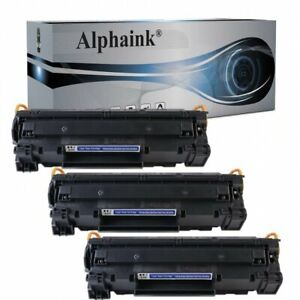 3 TONER PER HP Laserjet CB435A CE278A P1005 P1006 P1007 P1008 P1609DN M1536