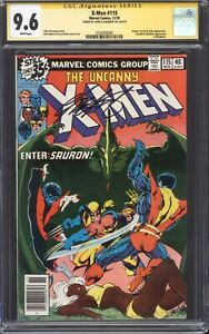 X-MEN #115 (1978) CGC 9.6 NM+ SS / Ka-Zar! / Signed by Chris Claremont!