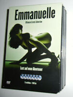 7-DVD-BOX EMMANUELLE NEU+HOLLY SAMPSON Emanuela Erotik Emanuelle Erotic Emanuele