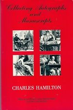 COLLECTING AUTOGRAPHS & MANUSCRIPTS signatures letter forgery preservation books