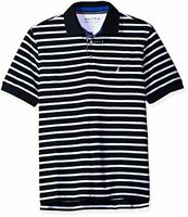 Nautica Mens Classic Fit Short Sleeve Striped Polo Shirt X- Pick SZ/Color.