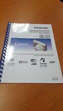 PANASONIC DMC-TZ70 TZ71 CAMERA MANUAL GUIDE INSTRUCTIONS PRINTED 305 PAGES A5