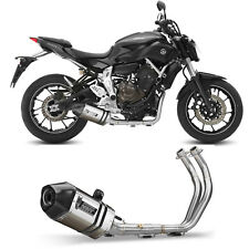 Scarico Completo Mivv Yamaha Mt-07 2018 18 Terminale Marmitta Speed Edge Moto