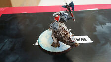 Warhammer 40k Space Wolves Space Marines Lord on Thunderwolf SEE DESCRIPTION