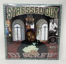 DJ Screw - Stressed Out Vinyl Record LP Houston Texas