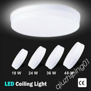 LED Ceiling Light Panel Down Lights Bathroom Kitchen Living Room Wall Lamp QW