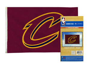 Cleveland NBA Cavs Cavaliers 3X5 Indoor Outdoor Banner Flag with grommets for