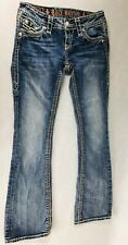 Rock Revival Buckle Womens Jamila Boot Jeans Size 24 X 29