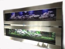 NEW Aquarium Wall Mounted 5ft FISH TANK 1.5M TROPICAL LUXURY LOUNGEROOM ESCAPE