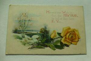 B286 True Wish NEW YEAR Full of Life's Best New Year Series No118 Postcard