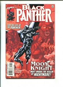 BLACK PANTHER #22 - MOON KNIGHT MUST INVADE THE REALM OF NIGHTMARE (9.2) 2000