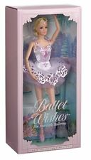 Barbie Ballet wishes for your little ballerina collector pink label Doll