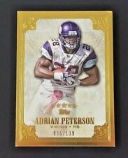 2012 TOPPS FIVE STAR ADRIAN PETERSON #35/139 VIKINGS #92