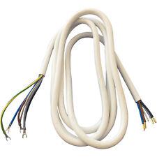 Anschlusskabel Herdkabel Backofen Herd Universal 3 m Farbe weiß 5 x 2,5 mm² (4,8
