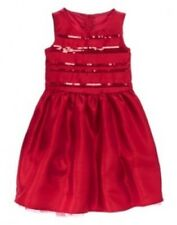 NWT Gymboree Very Merry Red Satin,Tulle and Sequence Dress Size 5 6 7 8