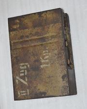 WW2 German 20mm FLAK MAGAZINE AMMO CASE. marked