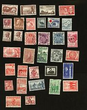 Australia stamps - 33 stamps small collection of Postage & Commeratives
