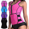 Women Waist Trainer Vest Adjustable Gym Workout Slimming Sweat Belt Body Shaper