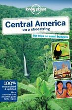 Lonely Planet Central America on a shoestring (Travel Guide)-ExLibrary