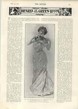 1902 Miss Josie De Witt American Violinist Miss Alice Coleman