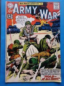 SCARCE 1962 Our Army At War #125 Sgt Rock DC Comics Joe Kubert Russ Heath 1960s