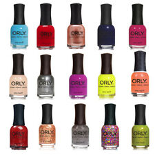 Orly Nail Polish. Buy 1 Get 1 at 50% Off. Bottle Contains .6 Fl Oz.