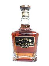 Jack daniels daniel's single barrel select full & sealed whisky bottle no winter