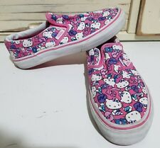 Hello Kitty Vans Shoes, size 3 Youth Kids Girls