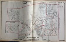 1914 E BELCHER HYDE ATLAS MAP PORT WASHINGTON NASSAU COUNTY LONG ISLAND NEW YORK