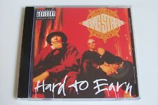 GANG STARR - HARD TO EARN CD 1994 (PRINTED IN HOLLAND) DJ Premier Guru Lil Dap